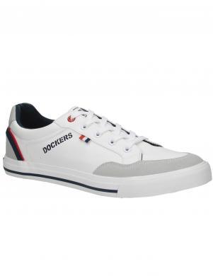 DOCKERS vīriešu balti ikdienas apavi