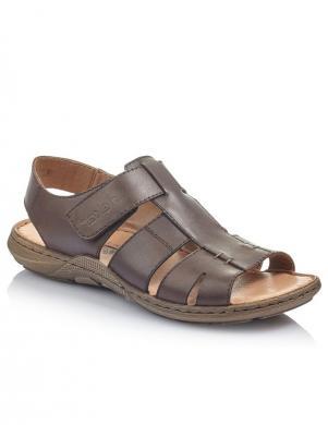 RIEKER vīriešu brūnas sandales