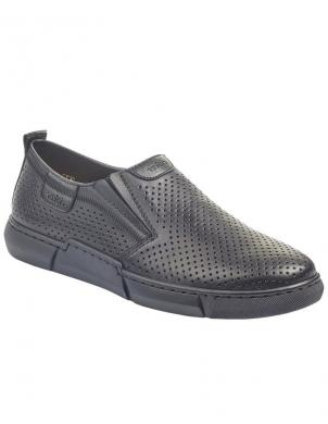 RIEKER vīriešu melni ikdienas apavi