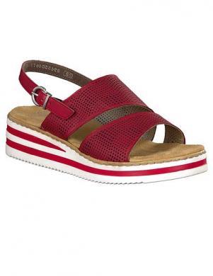 RIEKER sieviešu sarkanas sandales