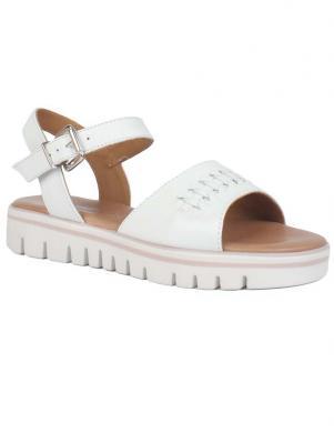 SALAMANDER sieviešu baltas sandales SOFILA