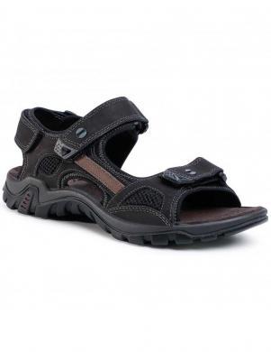 SALAMANDER vīriešu melnas sandales DINO