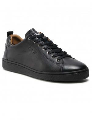 SALAMANDER vīriešu melni ikdienas apavi BONO