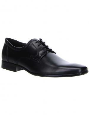 SALAMANDER vīriešu melni klasiski apavi ALLAN