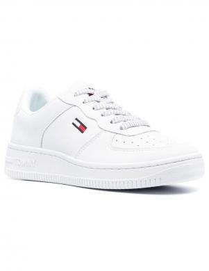 TOMMY JEANS sieviešu balti ikdienas apavi WMNS REFLECTIVE BASKET