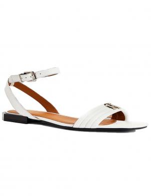 TOMMY HILFIGER sieviešu smilšu krāsas sandales TOMMY PADDED FLAT SANDAL