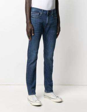 TOMMY HILFIGER vīriešu zili džinsi