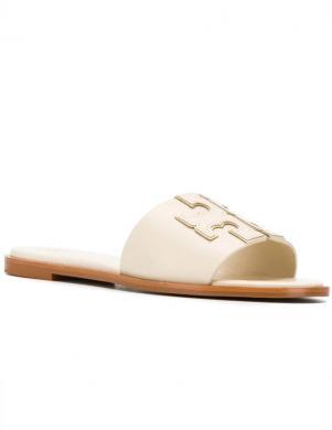 TORY BURCH sieviešu gaišas čības - sandales INES