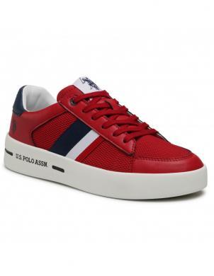 U.S. POLO ASSN. vīriešu sarkani ikdienas apavi VEGA