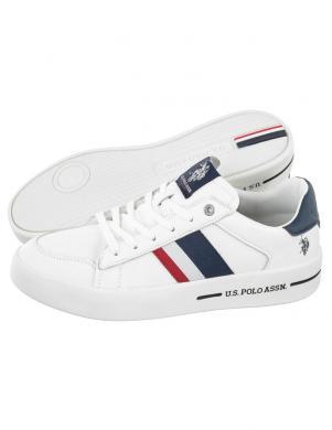 U.S. POLO ASSN. vīriešu balti ikdienas apavi VEGA