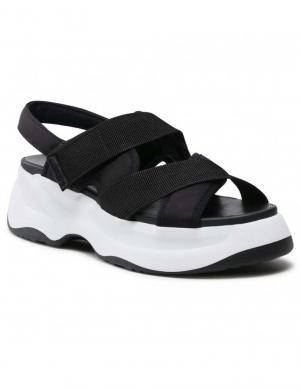 VAGABOND sieviešu melnas sandales ESSY