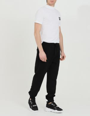VERSACE JEANS COUTURE vīriešu melnas sporta stila bikses