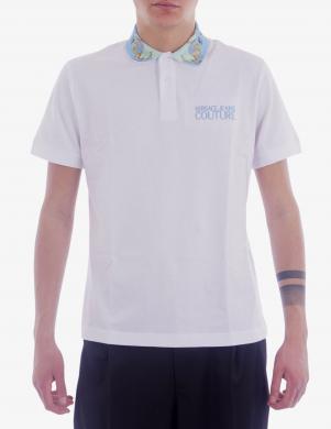 VERSACE JEANS COUTURE vīriešu balts Polo tipa krekls