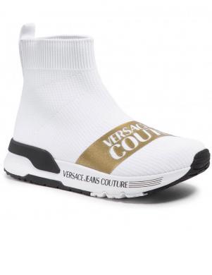 VERSACE JEANS COUTURE sieviešu balti ikdienas apavi - zābaki L. FONDO AERODYNAMIC DIS. SGB