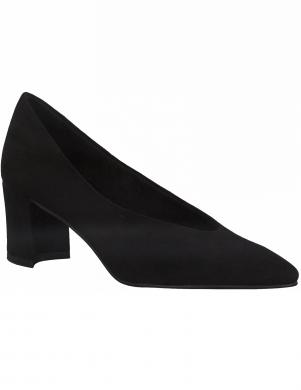 MARCO TOZZI sieviešu melni eleganti apavi