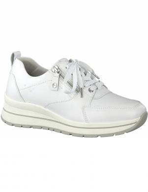TAMARIS sieviešu balti ikdienas apavi