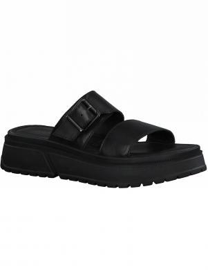 TAMARIS sieviešu melnas čības - sandales