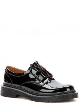 BETSY sieviešu melni lakoti klasiski apavi