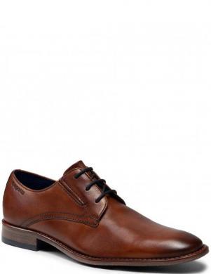 BUGATTI vīriešu brūni ādas klasiski apavi Rinaldo