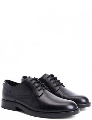CALVIN KLEIN vīriešu melni ādas klasiski apavi