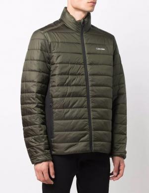 CALVIN KLEIN vīriešu zaļa dūnu jaka
