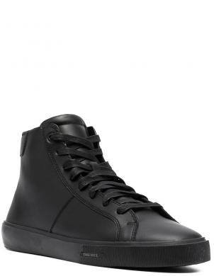 DIESEL vīriešu melni ādas ikdienas apavi-zābaki MYDORI