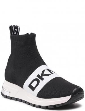 DKNY sieviešu melni ikdienas apavi-zābaki MACE