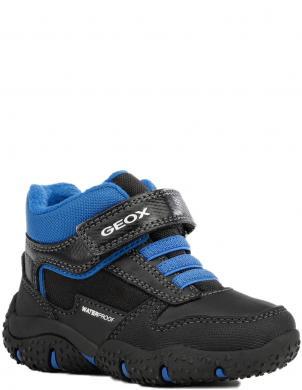 GEOX bērnu melni ikdienas apavi - zābaki zēniem BALTIC