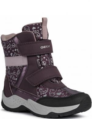 GEOX bērnu violeti zābaki meitenēm SENTIERO