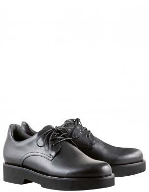 HOGL sieviešu melni ādas klasiski apavi SCOTT