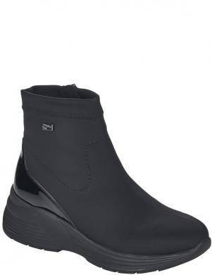 REMONTE sieviešu melni ikdienas apavi-zābaki ar siltinājumu
