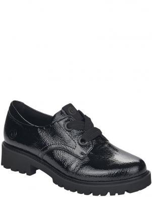 REMONTE sieviešu melni lakoti klasiski apavi