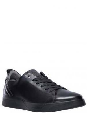 SALAMANDER vīriešu melni ādas ikdienas apavi ETHON