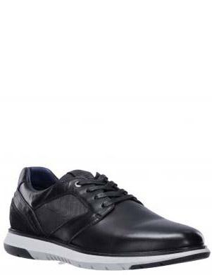 SALAMANDER vīriešu melni ādas ikdienas apavi MATEON