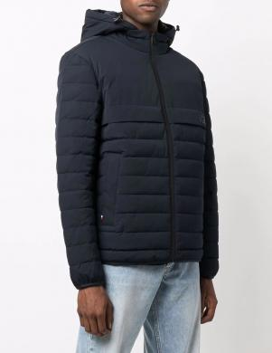 TOMMY HILFIGER vīriešu tumši zila dūnu jaka