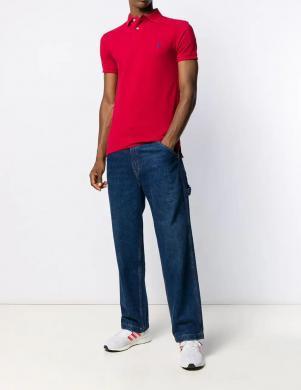 POLO RALPH LAUREN sarkans vīriešu krekls