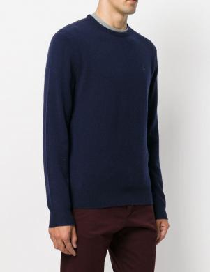 POLO RALPH LAUREN zils vīriešu vilnas džemperis