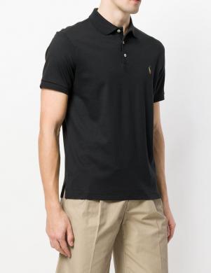 POLO RALPH LAUREN melns vīriešu krekls