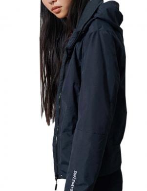 SUPERDRY sieviešu tumši zila jaka HURRICANE JACKET