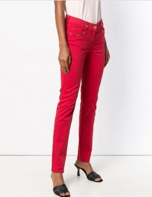 CAVALLI CLASS sarkani sieviešu džinsi