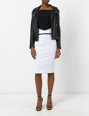 CAVALLI CLASS zīmuļformas baltas krāsas sieviešu svārki