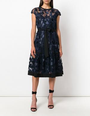 CAVALLI CLASS tumši zilas krāsas eleganta sieviešu kleita