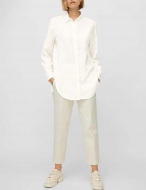 MARC O POLO sieviešu balts garš krekls
