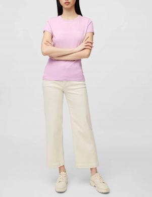 MARC O POLO sieviešu violets krekls ar īsām piedurknēm