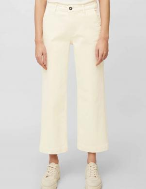 MARC O POLO sieviešu balti taisni džinsi