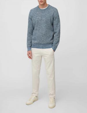 MARC O POLO vīriešu zils kokvilnas džemperis