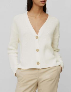 MARC O POLO sieviešu baltas aizdares džemperis