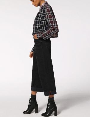 DIESEL rūtains sieviešu krekls RUBY SHIRT