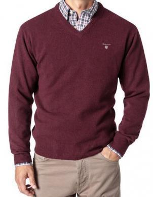 Sarkans vīriešu džemperis GANT