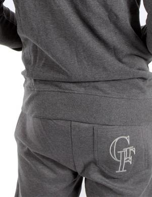 GIANFRANCO FERRE vīriešu tumši pelēkas sporta bikses